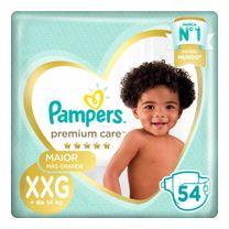 Pañales Pampers Premium Care  XXG 54u